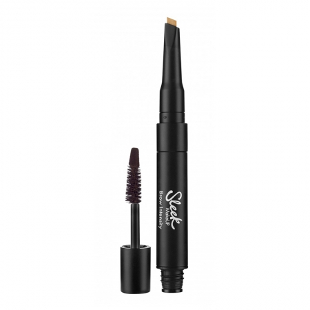 Creion si Mascara pentru Sprancene Sleek MakeUP Brow Intensity, Extra Dark0