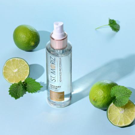 Spray Autobronzant Profesional pentru ten ST MORIZ Advanced PRO Formula cu Vitamina E si Aloe Vera, Radiant Glow, 150 ml6