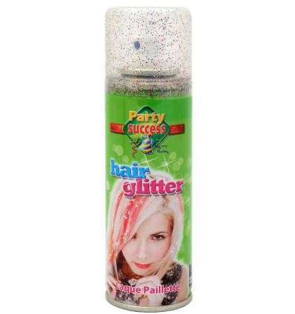 Spray Cu Sclipici Pentru Par Si Corp Party Succes - Multicolor, 125 ml