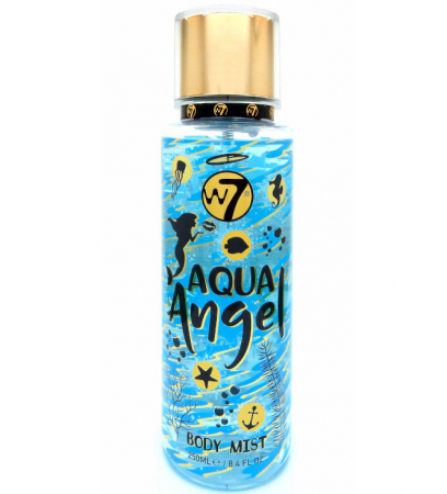 Spray pentru corp cu parfum exotic W7 Ladies Aqua Angel Body Mist, 250 ml