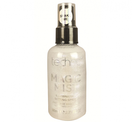 Spray Iluminator Fixare Machiaj Technic Magic Mist Illuminating Setting Spray, Iridescent, 80 ml