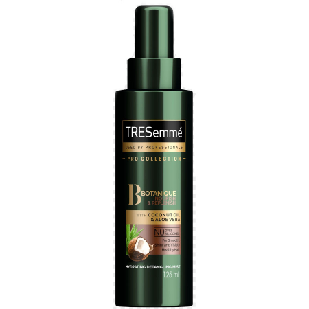 Spray de par pentru hranire si stralucire TRESemme PRO Collection Botanique, cu Ulei de Cocos si Aloe Vera, 125 ml