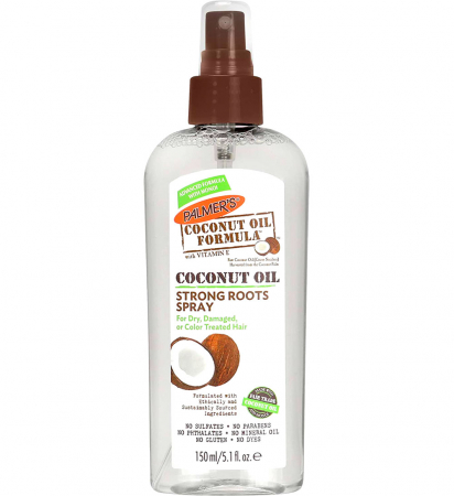 Spray pentru intarirea radacinii parului deteriorat PALMER'S Coconut Oil Formula, Strong Roots Spray, 150 ml