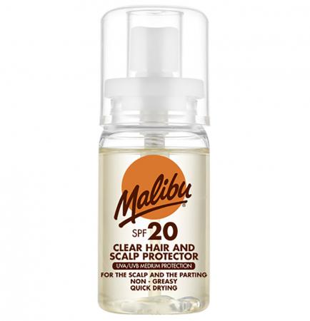 Spray pentru protectia scalpului si parului MALIBU Protector, UVA/UVB, Rezistenta la apa, SPF20, 50 ml
