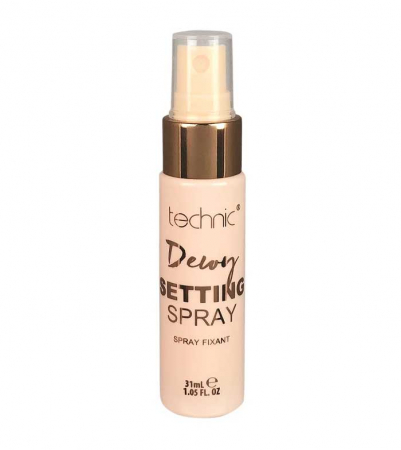 Spray fixator machiaj cu cocos TECHNIC Dewy Setting Spray, 31 ml