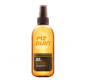 Spray Protectie Solara PIZ BUIN Wet Skin 150 ml cu SPF 300