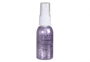 Spray Stralucitor Pentru Fata Si Corp Technic Face And Body Shimmer - Violet, 30 ml