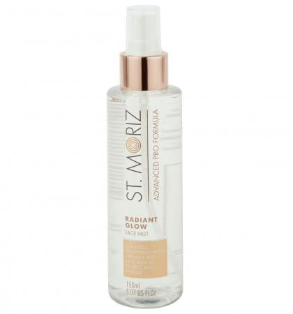 Spray Autobronzant Profesional pentru ten ST MORIZ Advanced PRO Formula cu Vitamina E si Aloe Vera, Radiant Glow, 150 ml