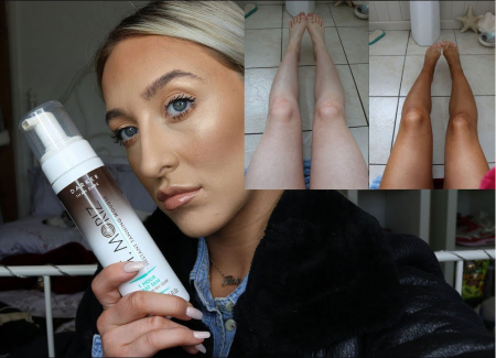 Spuma Autobronzanta Profesionala ST MORIZ Instant Tanning 1Hour - Darker Than Dark, 200 ml1