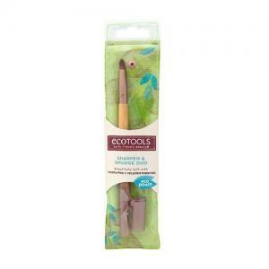 Pensula Pentru Blending cu Ascutitoare ECOTOOLS Sharpen & Smudge Duo