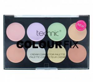 Trusa Profesionala Pentru Conturare Cu 8 Corectoare TECHNIC Colour Fix0