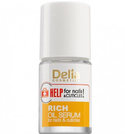 Ser imbogatit cu uleiuri pentru unghii si cuticule, Delia Cosmetics Help for Nails & Cuticles, 11 ml1