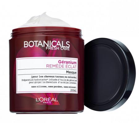 Masca de par L'Oreal Paris Botanicals Fresh Care cu ulei de muscata pentru par vopsit sau tern, stralucire intensa, 200 ml