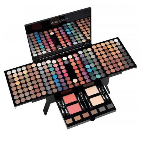 Trusa Profesionala Machiaj cu 190 culori MISS ROSE Blockbuster Piano MakeUp Palette