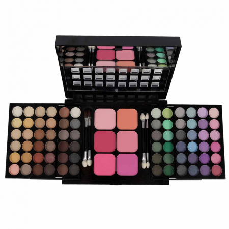 Trusa Machiaj Profesionala 78 Culori La Femme Eyeshadow, Blusher Palette