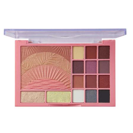 Paleta pentru machiaj SUNKISSED Sweet Sunrise The Ultimate Face Palette1