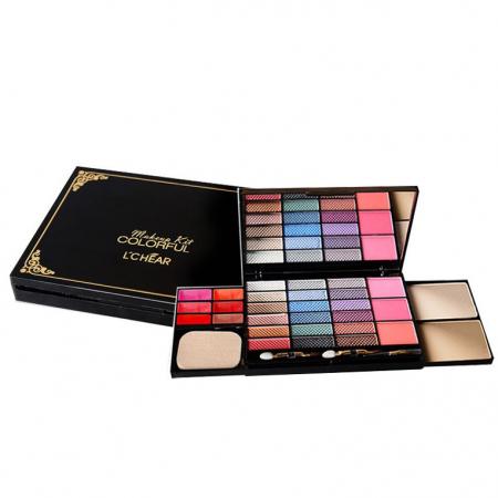 Set machiaj L'Chear Makeup Kit COLORFUL, 32 piese3