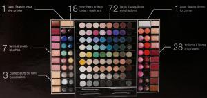 Trusa Profesionala de Machiaj cu 130 culori MEIS Make-Up PREMIUM2
