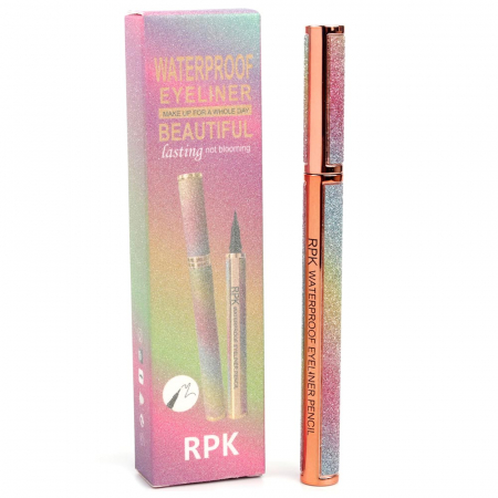 Tus de ochi carioca Waterproof RPK, Beautiful Eyeliner, Negru Intens