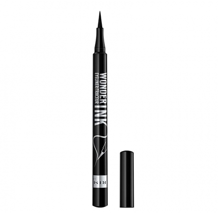 Tus de ochi carioca Rimmel London Wonder Ink Ultimate 24H, 001 Black