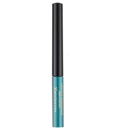 Tus de ochi lichid Max Factor Colour X-Pert Waterproof, 04 Metallic Turquoise