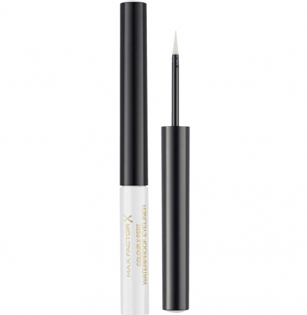 Tus de ochi lichid Max Factor Colour X-Pert Waterproof, 00 Metallic White