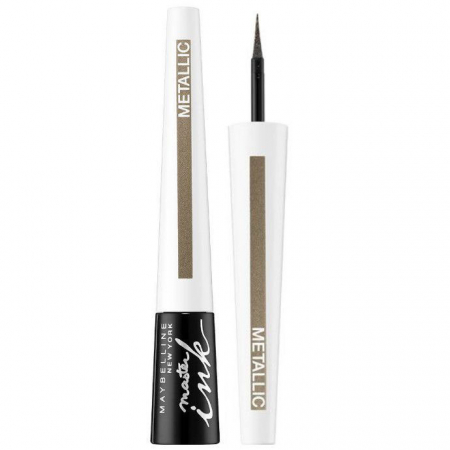 Tus de ochi Maybelline New York Master Ink Liquid Eyeliner, Metallic, Shimmer Sand