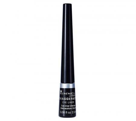 Tus de ochi Rimmel London Exaggerate Liquid Eyeliner, 100% Black, 2.5 ml2