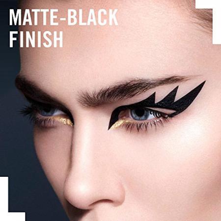 Tus de ochi Rimmel London Exaggerate Liquid Eyeliner, 100% Black, 2.5 ml3