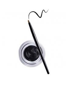 Gel Contur De Ochi LONDON GIRL Long Lasting Waterproof - Black (Negru intens)0
