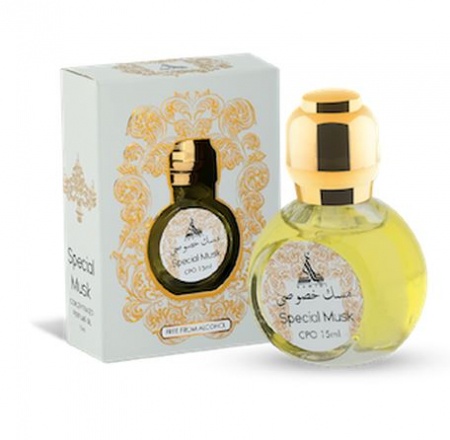 Ulei de parfum arabesc HAMIDI Special Musk Perfume Oil, formula concentrata, 15 ml