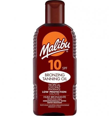 Ulei De Plaja MALIBU Bronzing Tanning Oil Cu SPF10, 200 ml