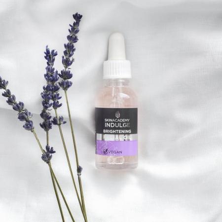 Ulei facial anti-roseata cu Lavanda si Ulei de Macese SKIN ACADEMY Brightening Facial Oil, 30 ml1