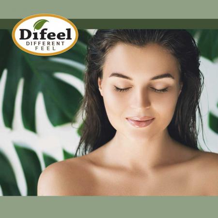 Ulei tratament premium pentru par deteriorat cu protectie impotriva factorilor chimici, Difeel 99% Natural din Unt de Shea, 75 ml1