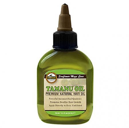 Ulei tratament premium pentru regenerearea, protejarea si intarirea firului de par fragil, Difeel 99% Natural din Ulei de Tamanu, 75 ml