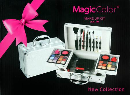 Valiza Profesionala Machiaj, Multifunctionala, Magic Color Makeup Kit, Charming Silver5