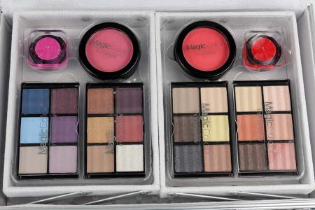 Valiza Profesionala Machiaj, Multifunctionala, Magic Color Makeup Kit, Charming Silver2