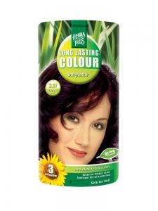 Vopsea de Par HennaPlus Long Lasting Colour - Burgundy 3.670