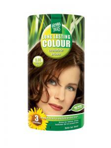 Vopsea de Par HennaPlus Long Lasting Colour - Chocolate Brown 5.350
