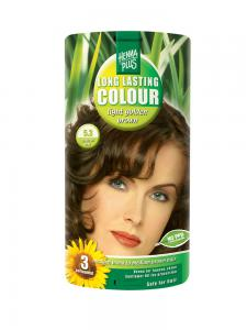 Vopsea de Par HennaPlus Long Lasting Colour - Light Golden Brown 5.30