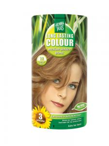 Vopsea de Par HennaPlus Long Lasting Colour - Medium Golden Blond 7.3