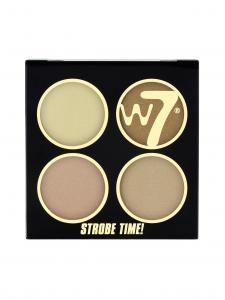 Kit Pentru Bronz Si Iluminare W7 Strobe Time - Vivid Glow2