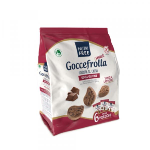 Biscuiti Goccefrolla cu Cacao fara Gluten 6 Mono Portii 240Gr 0