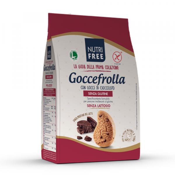 Biscuiti Goccefrolla fara gluten cu bucati de ciocolata 400Gr 0