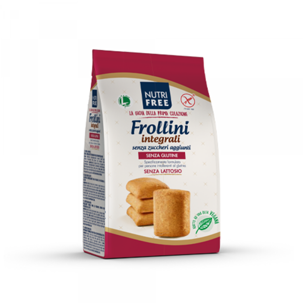 Biscuiti integrali Frollini fara zahar si fara gluten 250Gr 0