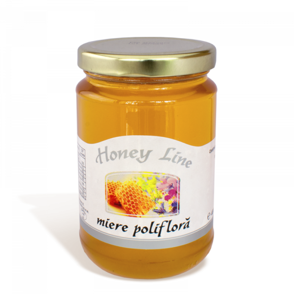 Miere Poliflora Honey Line, 400g 0