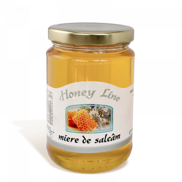Miere de Salcam Honey Line, 400g 0