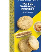 Biscuiti cu crema toffee fara gluten - 160g [0]