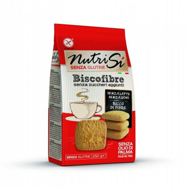 Biscuiti bogati in fibre fara gluten si fara zahar 250Gr [0]