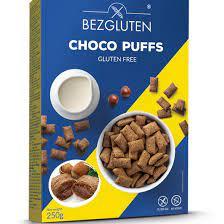 """""""CHOCO PUFFS"""" – Pernute de cacao fara gluten umplute cu crema de alune - 250g [0]"""